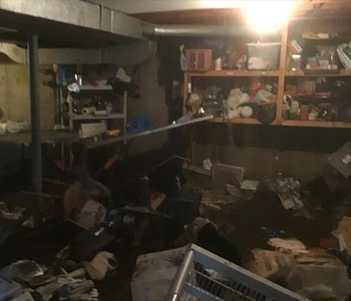 Flooded Basement In Commercial Property: SERVPRO Of South Bronx Gallery Photos