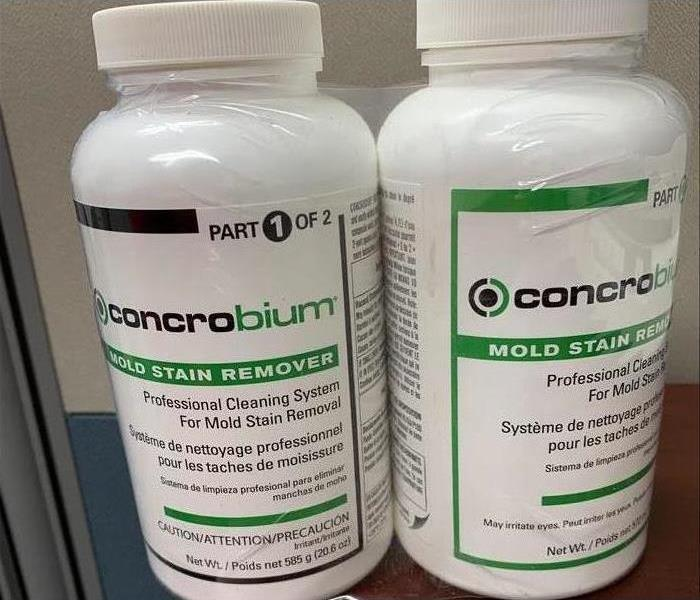 Two bottles of 126 Concrobium Mold Stain Remover